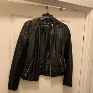 Gently worn! Express vegan leather jacket